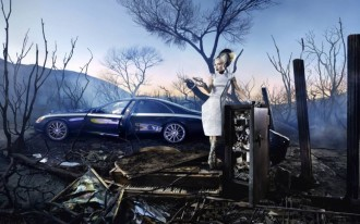Video: Photog David LaChapelle Shoots The Maybach Zeppelin