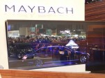 Maybach under glass, 2002 Geneva Auto Show