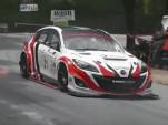 Mazda 3 MPS Rotary Hill Climb race car has a 630-hp rotary engine