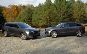 2017 Jaguar F-Pace vs. 2016 Mazda CX-9: Compare Cars