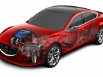Mazda i-ELOOP capacitor-based regenerative braking technology