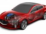 Mazda i-ELOOP capacitor-based regenerative braking technology