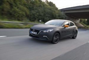 2020 Mazda 3 prototype