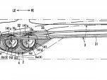 Mazda patent for active rear spoiler design