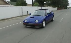 """1992 Mazda Autozam AZ-1 on """"Jay Leno's Garage"""""""