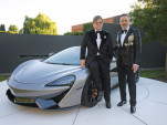 Bespoke McLaren 570S Spider raises money for Elton John AIDS Foundation