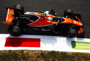 McLaren at the 2017 Formula 1 Italian Grand Prix
