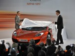 McLaren Automotive launch presentation