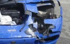 Sacrilege: McLaren F1 Crashes On German Autobahn