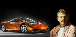 McLaren F1 designer Gordon Murray