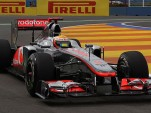 McLaren F1 race car