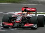 McLaren Mercedes MP24 F1 race car