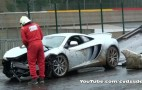 McLaren MP4-12C Crashes During Spa Francorchamps Track Day