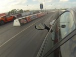 McLaren MP4-12C drag races Ferrari 458 Italia