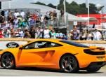 McLaren MP4-12C makes world debut at Goodwood Festival.