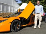 McLaren MP4-12C makes world debut at Goodwood Festival.