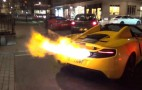McLaren MP4-12C Spits Crazy Flames—Grab Your Meat Products