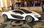 McLaren P1 With Gold Wheels, Engine Cover By MSO: Video