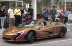 McLaren P1 features a chameleon carbon fiber finish