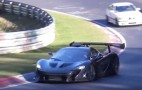 986-horsepower McLaren P1 LM goes hunting on the 'Ring