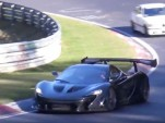 McLaren P1 LM on the Nürburgring
