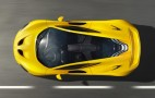 McLaren P1 Hybrid Supercar: Production Version Revealed