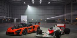McLaren Senna and MP4/5
