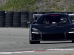 McLaren Senna being tested at the race track