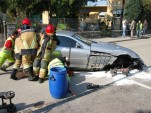 McLaren SLR wreckage left by drunk driver
