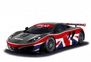 McLaren's GREAT-themed MP4-12C GT3