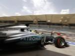 Mercedes AMG at the 2013 Formula Bahrain Grand Prix