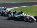 Mercedes AMG at the 2016 Formula One Hungarian Grand Prix