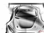 2016 Mercedes-AMG GT3 race car