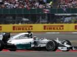 Mercedes AMG's Lewis Hamilton at the 2014 Formula One British Grand Prix