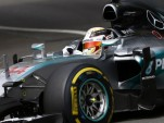 Mercedes AMG's Lewis Hamilton at the 2015 Formula One Monaco Grand Prix Pole