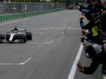 Mercedes-AMG's Lewis Hamilton at the 2018 Formula 1 Azerbaijan Grand Prix