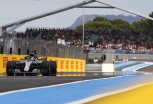 Mercedes-AMG's Lewis Hamilton at the 2018 Formula 1 French Grand Prix
