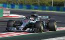 Mercedes-AMG's Lewis Hamilton at the 2018 Formula 1 Hungarian Grand Prix