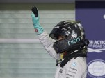 Mercedes AMG's Nico Rosberg at the 2016 Formula One Abu Dhabi Grand Prix
