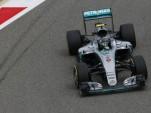 Mercedes AMG's Nico Rosberg at the 2016 Formula One Bahrain Grand Prix