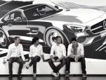 Mercedes-Benz AMG GT tape artwork screencap