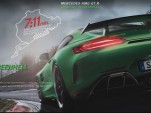 The Beast of the Green Hell promotion for the Mercedes-AMG GT R