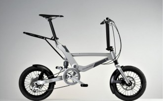 This Benz Folds Like A...Bike