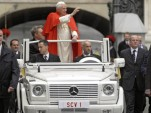 Mercedes-Benz delivers a new Popemobile