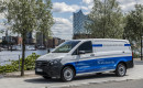 Mercedes-Benz eVito (Metris) electric delivery van in Germany