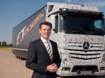 Mercedes-Benz Future Truck 2025 autonomous vehicle