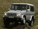 Mercedes-Benz G-Class suspension articulation