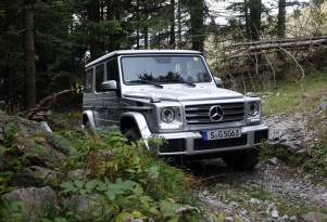 2017 Mercedes-Benz G-Class at Schoeckl Mountain, Austria