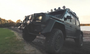 Jon Olsson's custom Mercedes-Benz G500
