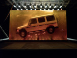 1979 Mercedes-Benz G-Class resin display at 2018 Detroit Auto Show